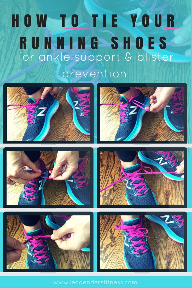 How to tie your running shoes for better ankle support and blister prevention