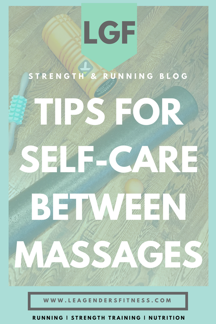 Tips for self-care between massages. save to Pinterest for later