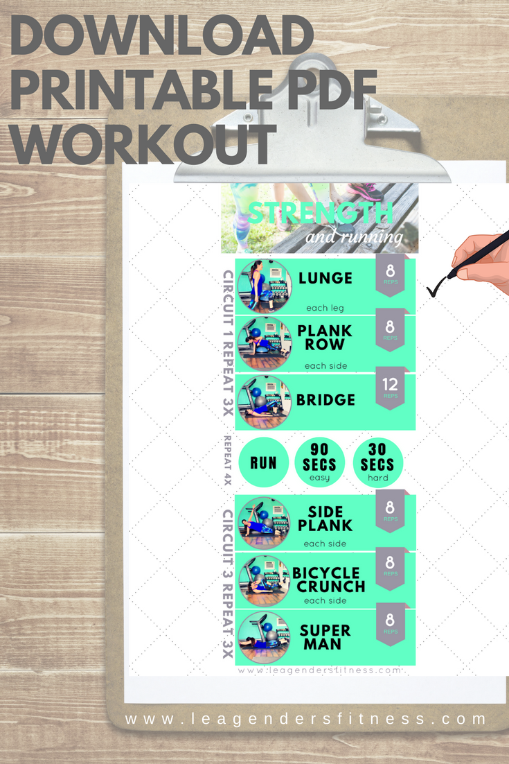 Download a printable version of this workout.