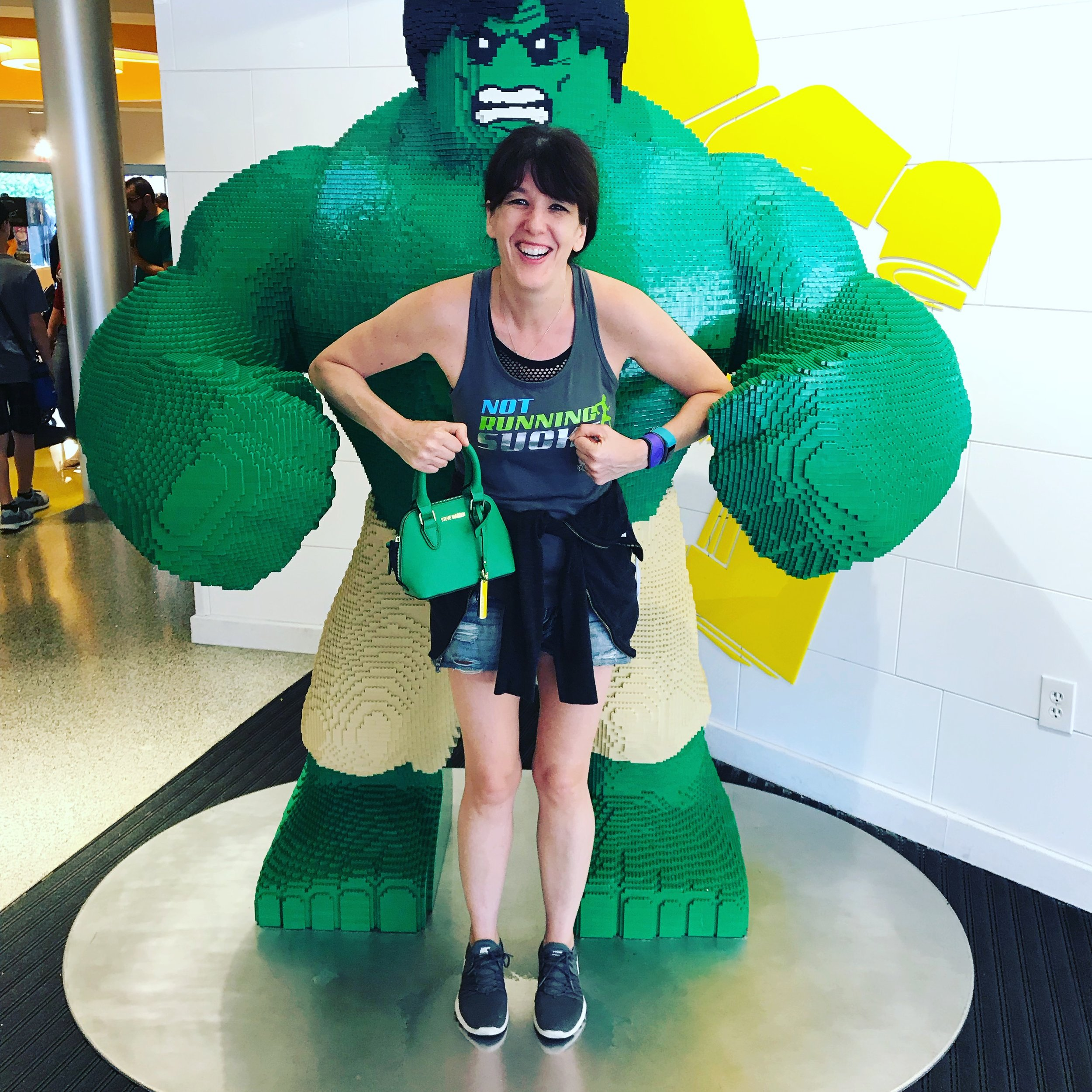 Hulk Legos and Disney Springs