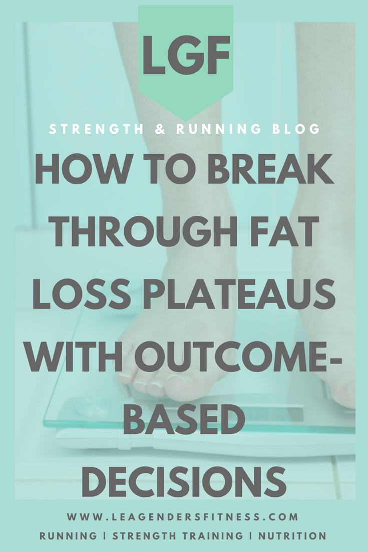 how to break through plateaus with outcome-based decisions. Save to your favorite Pinterest board for later.