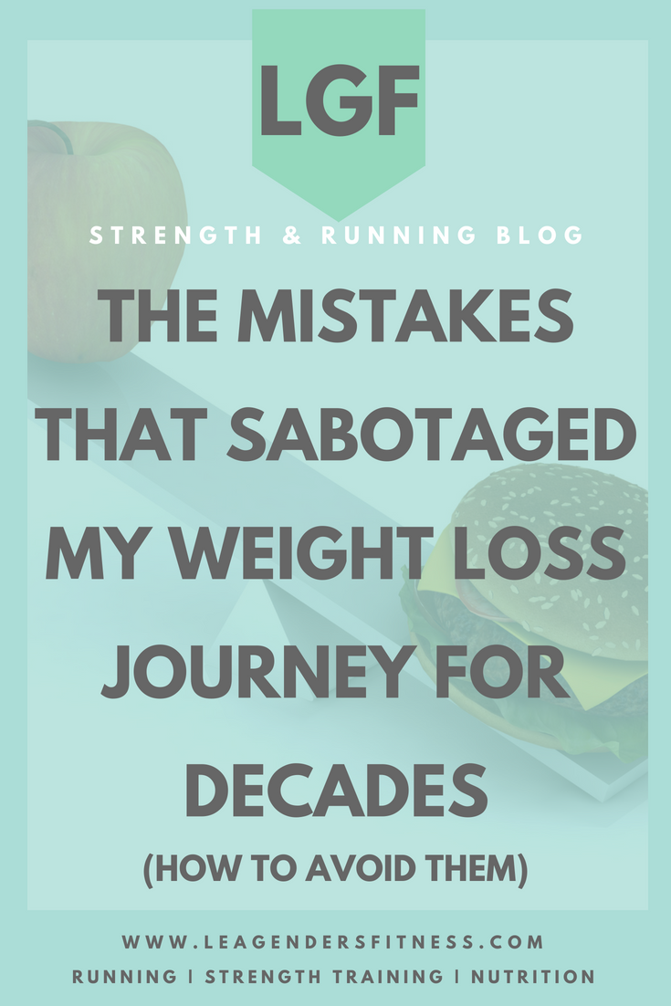 the mistakes that sabotaged my weight loss journey for decades. save to your favorite Pinterest board for later.