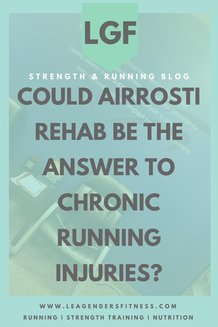 Could AIRROSTI rehab be the answer to chronic running injuries? save to your favorite pinterest board for later.