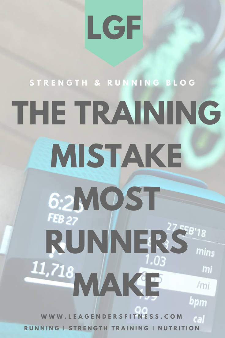 the training mistake most runners make. save to your favorite Pinterest board for later.