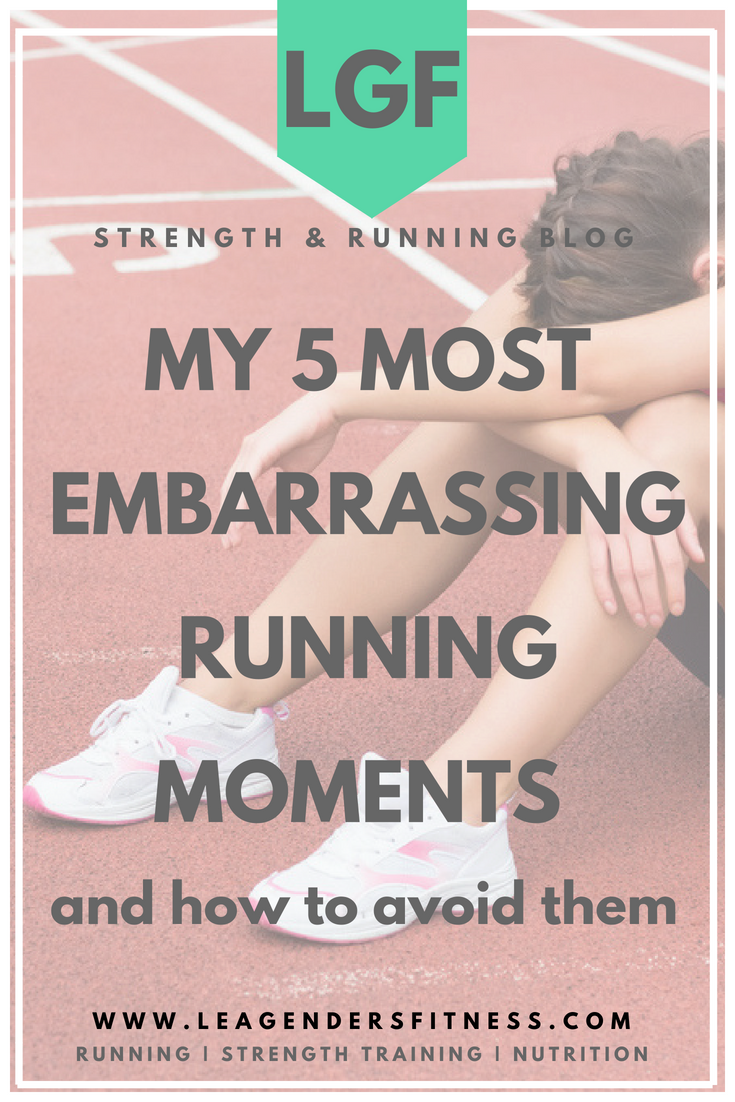 most embarrassing running moments and how to avoid them. Save to your favorite Pinterest running board for later.