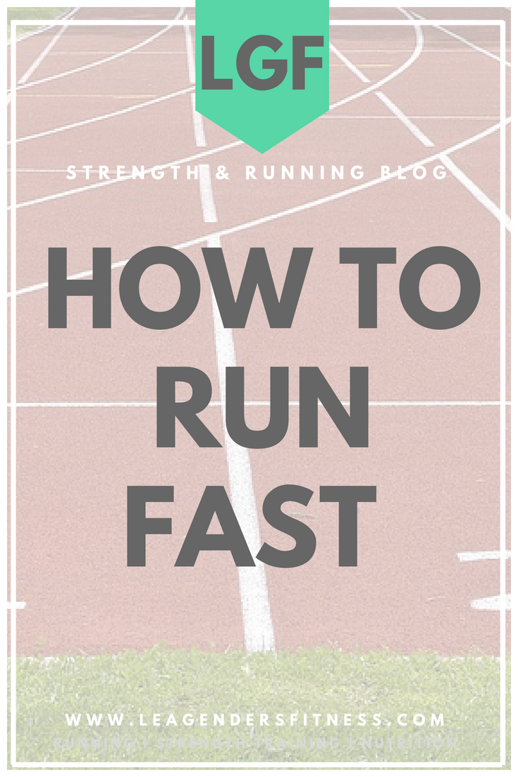 how to run fast. save to your favorite Pinterest running board for later.