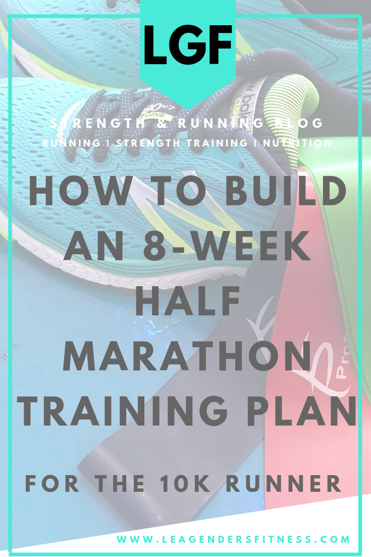 How to build an 8-week half marathon training plan. Save to your favorite running Pinterest board for later.