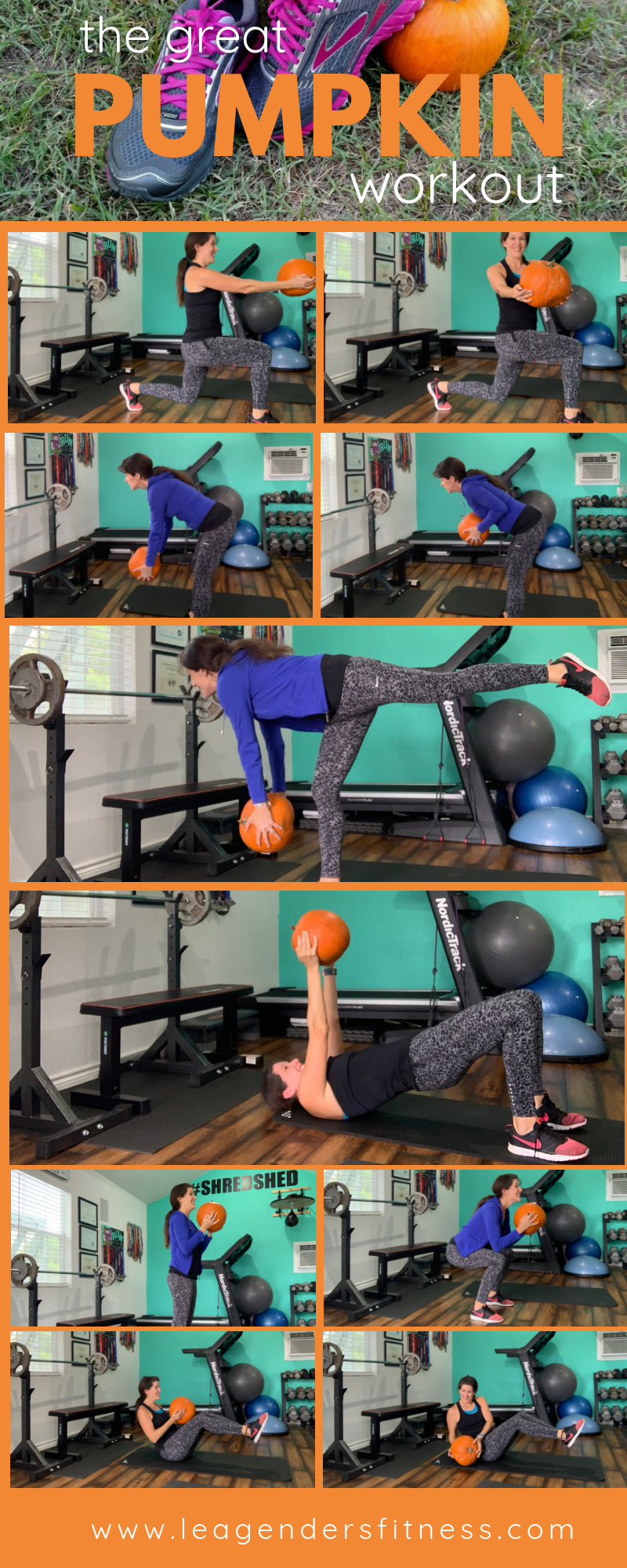 the great pumpkin workout exercises. Save to your favorite Pinterest board for later.