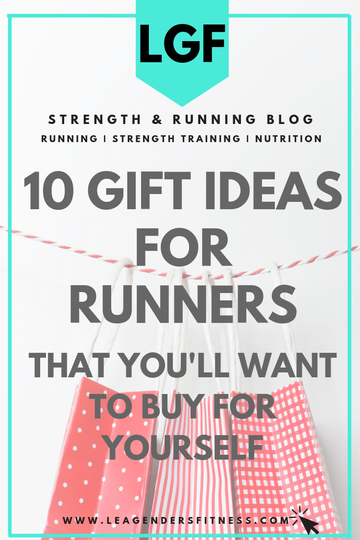 10 holiday gift ideas for runners that you'll want to buy for yourself. Save to your favorite Pinterest board for later.