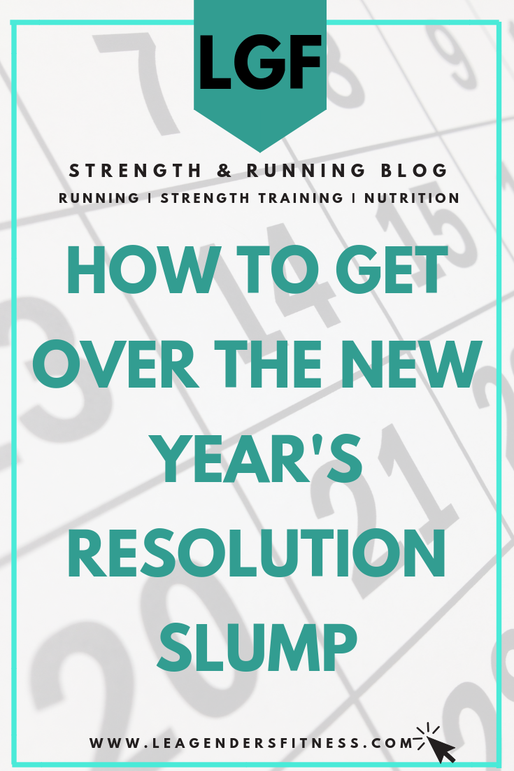 How to get over the New Year's resolution slump. Save to your favorite Pinterest board for later.