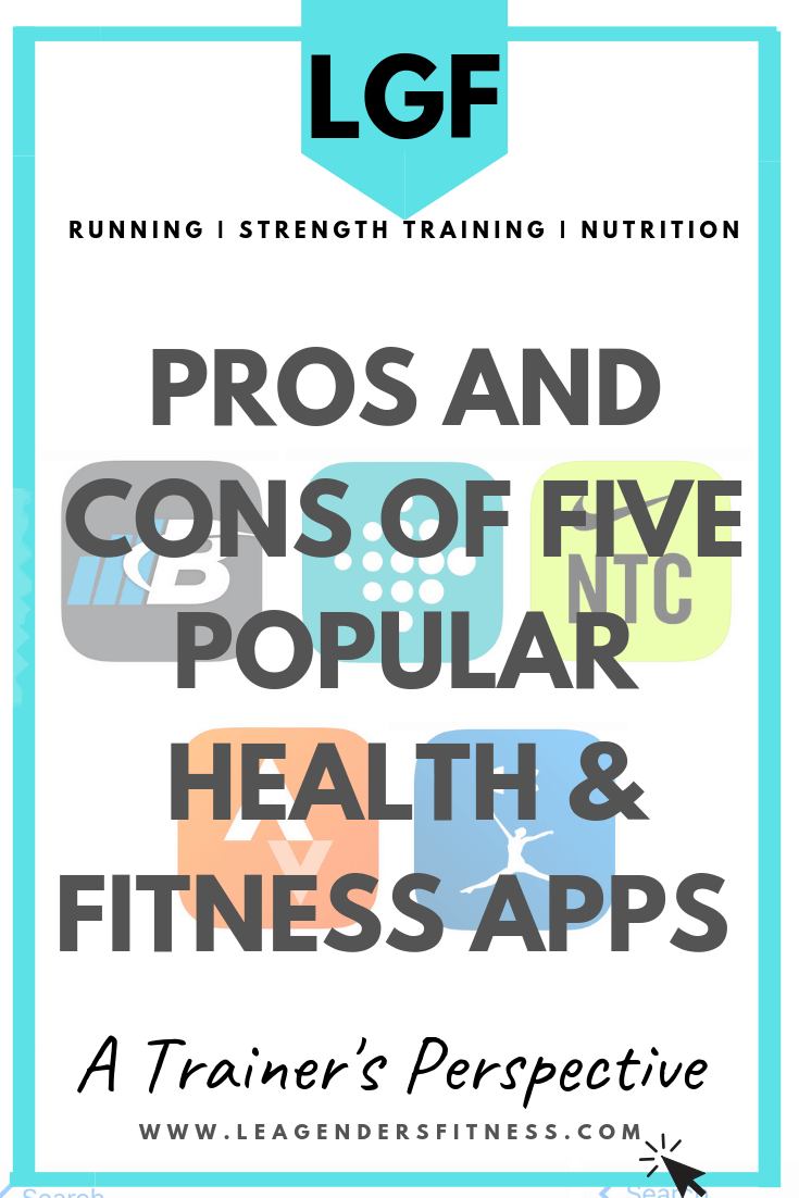 Pros and Cons of Popular Health and Fitness Apps. Save to Your Favorite Pinterest Board For Later.
