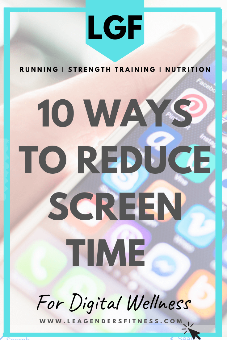 10 Ways to Reduce Screen TIme. Save to Your favorite Health-Focused Pinterest board to Share.