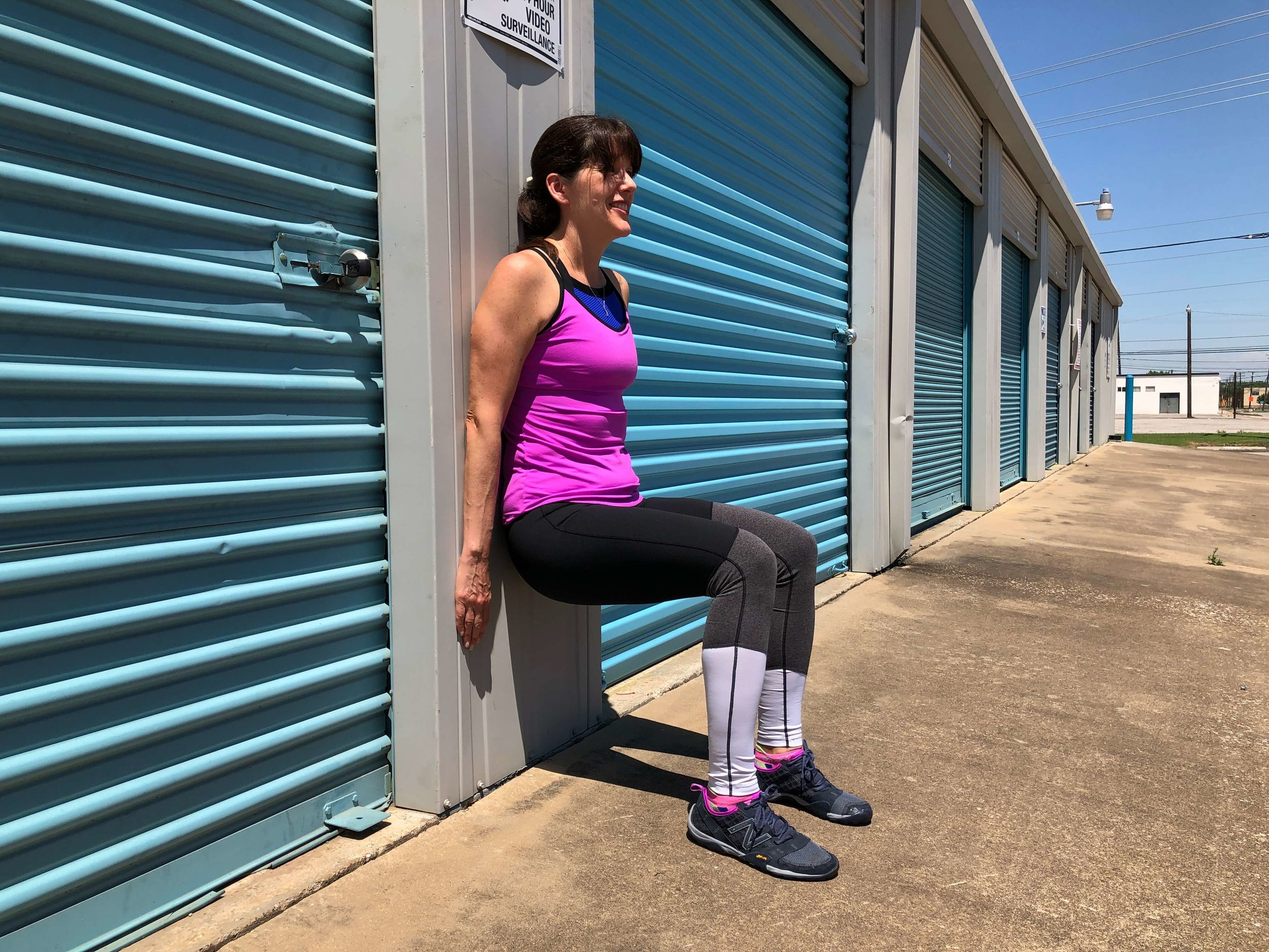 wall sit test in Fort Worth
