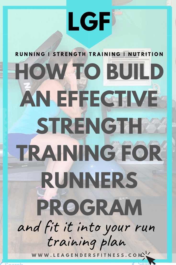 how to build a strength training program for runners