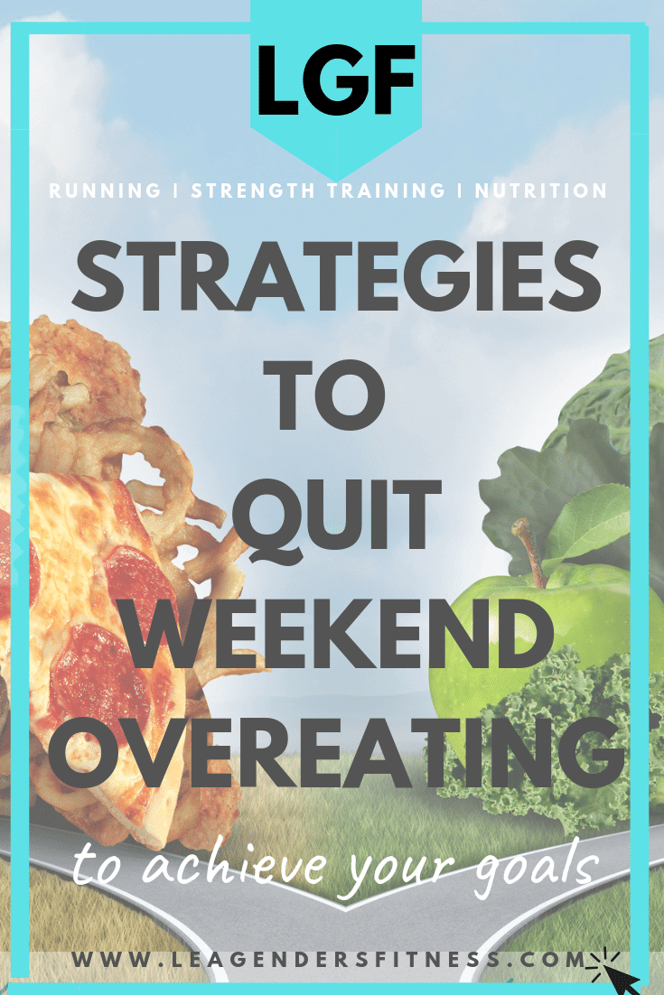 Strategies to Quit Weekend Overeating. Save to your favorite Pinterest Board to share or save for later.