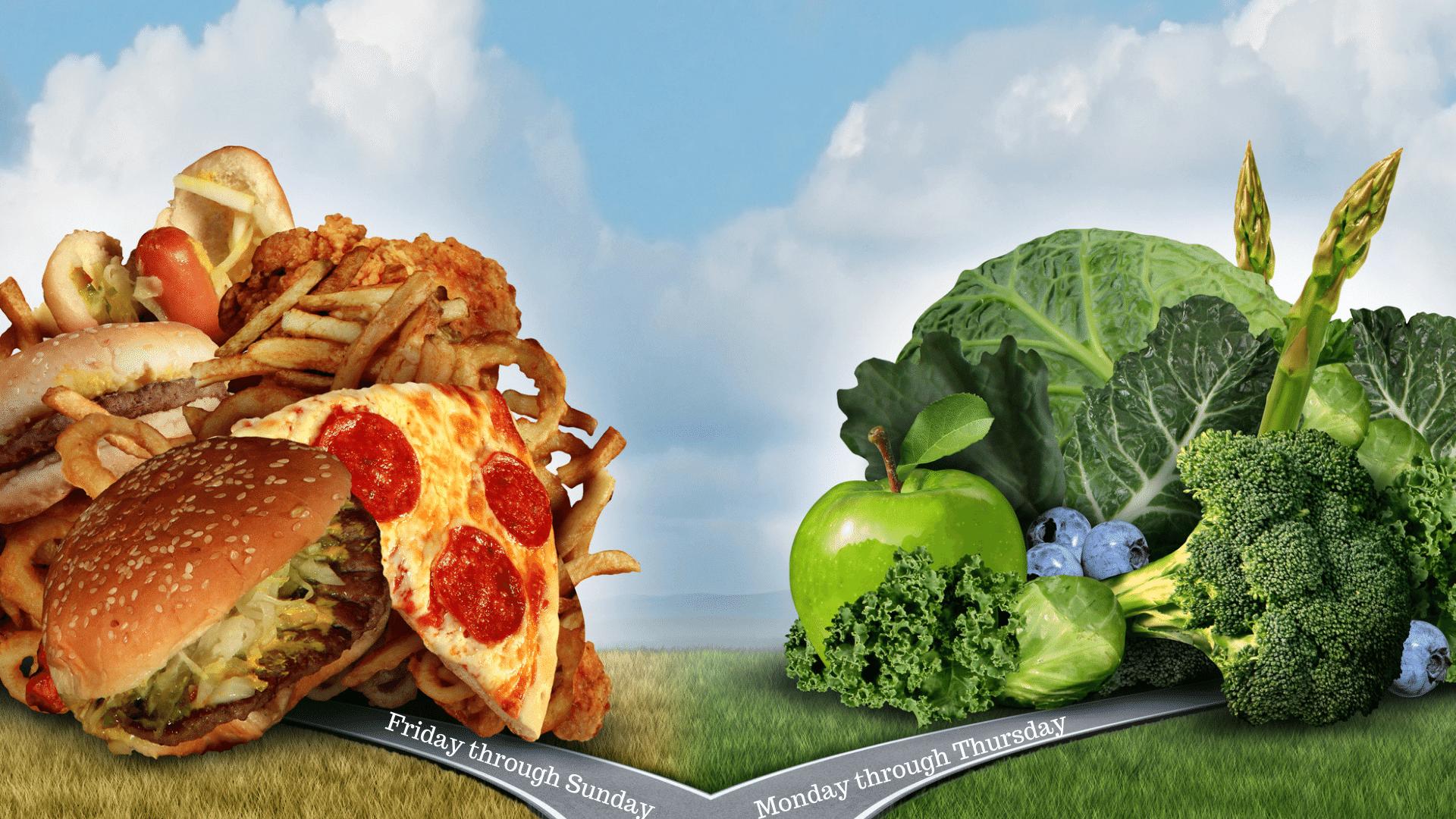 avoid weekend overeating