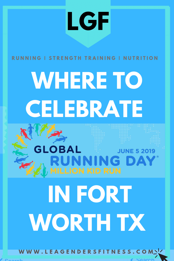 Where to celebrate Global Running Day in Fort Worth TX. Save to your favorite Pinterest running board to share.