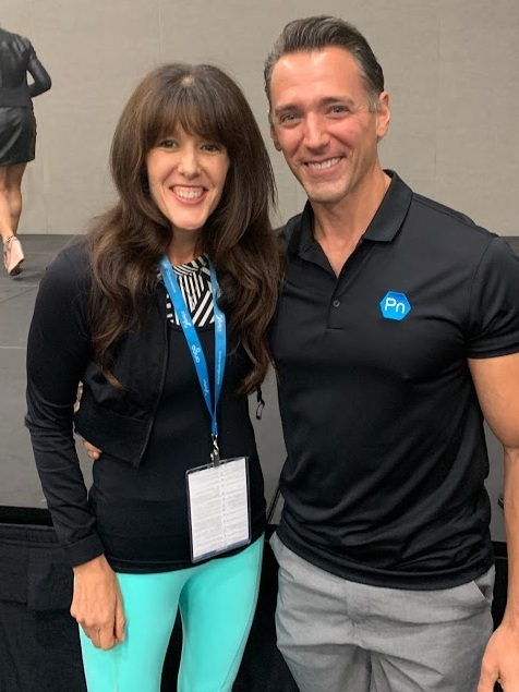 Me and Dr. John Berardi of Precision Nutrition at IDEA World fitness convention