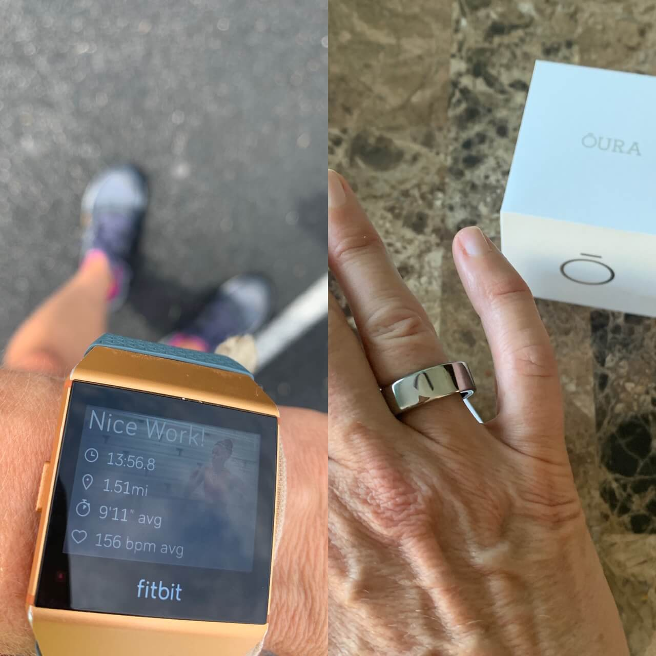 Fitbit Ionic Vs. Oura Ring