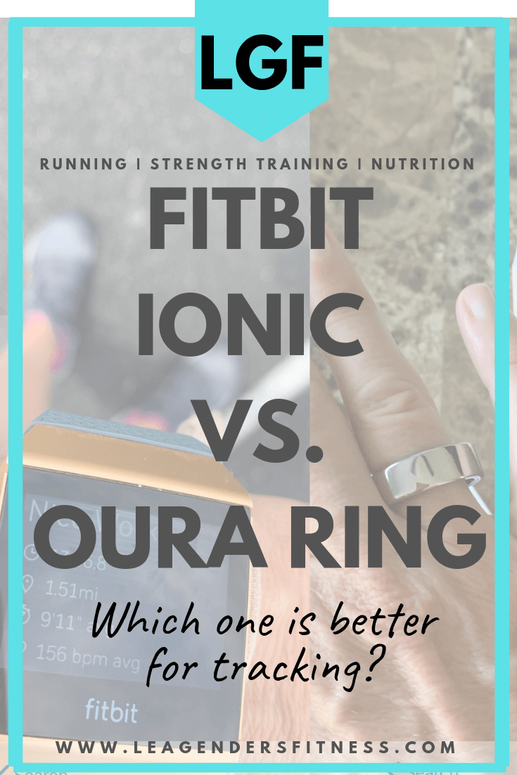 Fitbit Ionic vs. Oura ring. Which is better for tracking? Save to your favorite Pinterest board to save for later or share.
