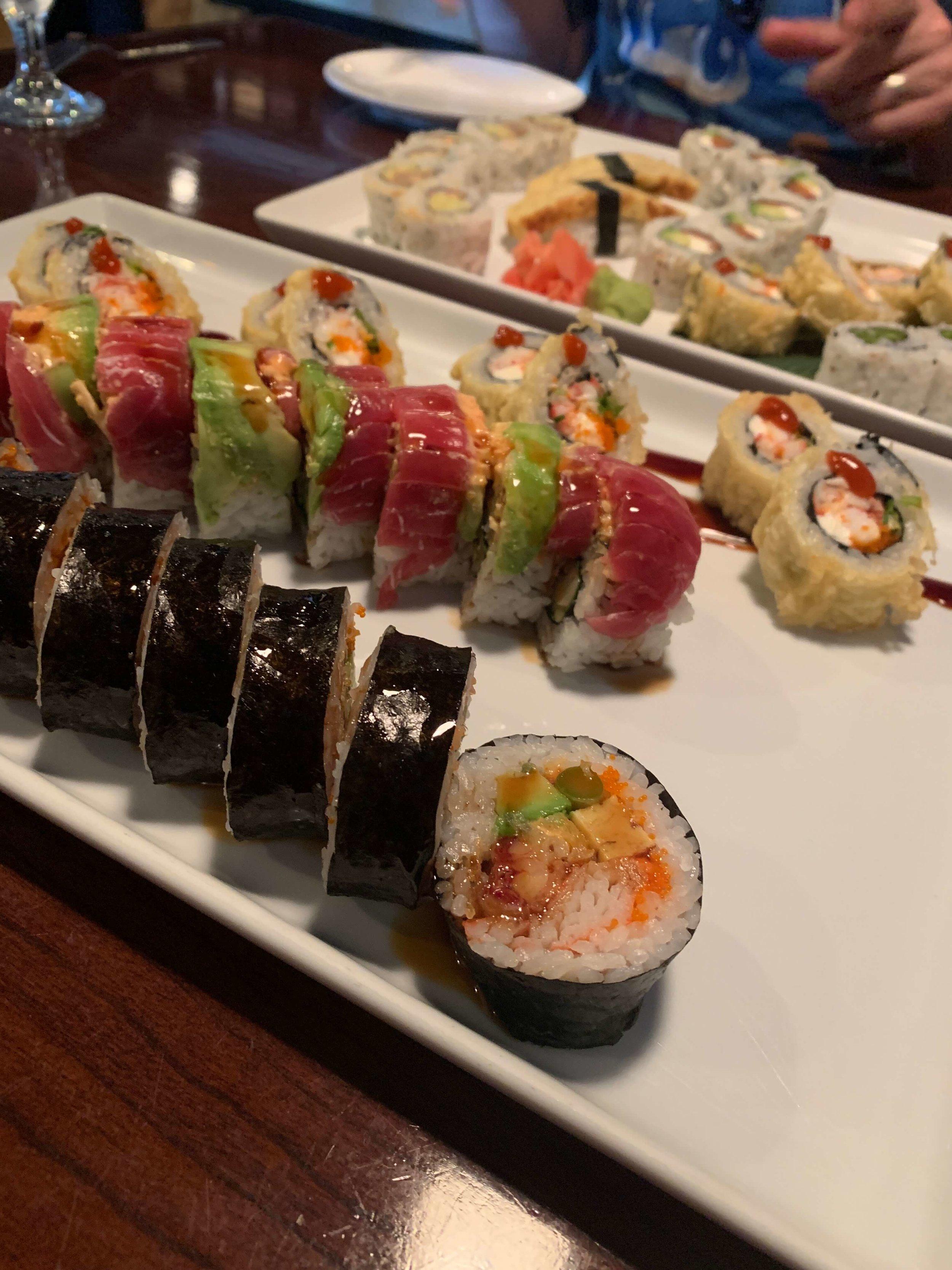 Toledo Sushi; my favorite indulgence