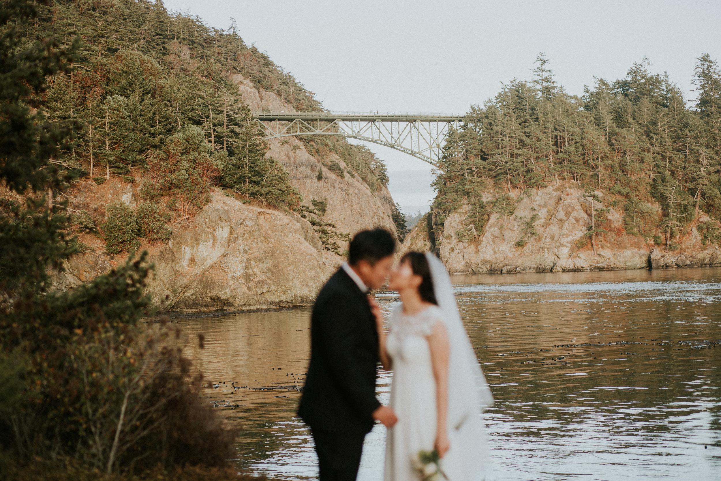 wedding photographer deception pass