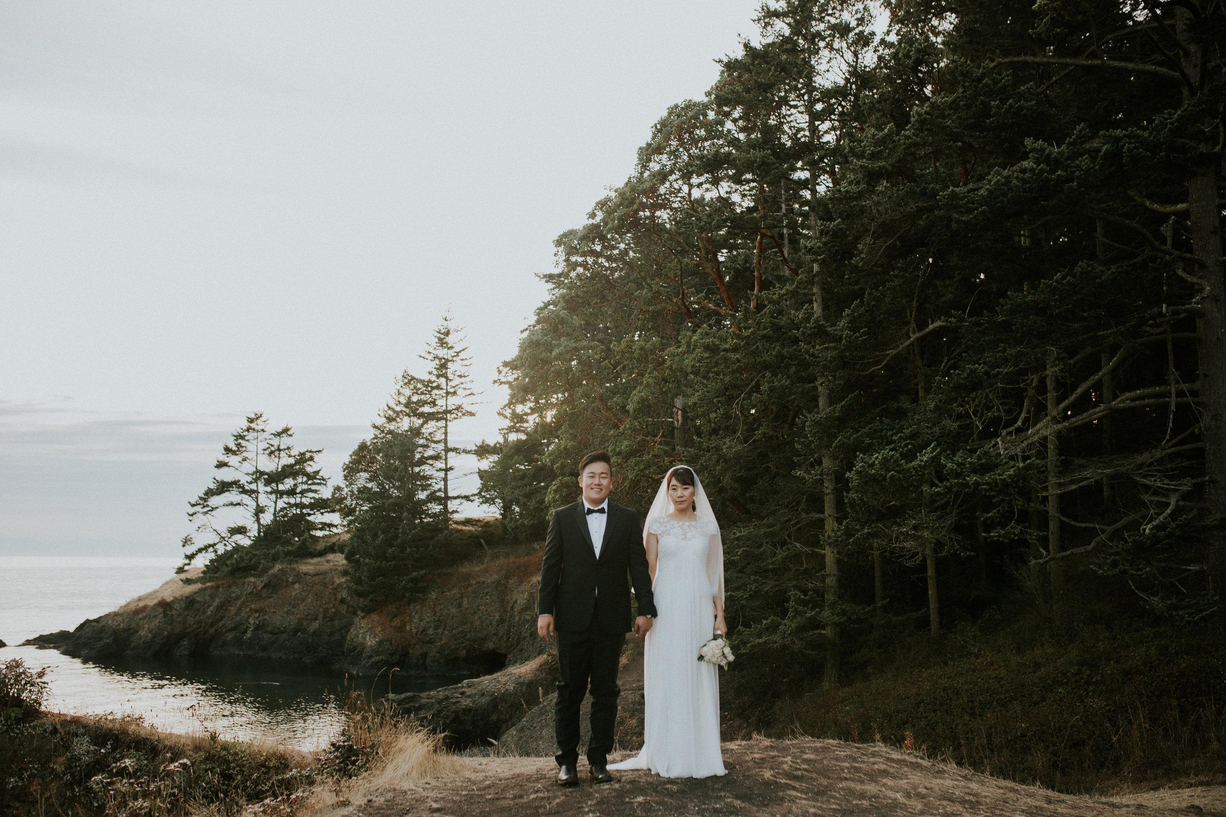 rosario beach wedding photographer