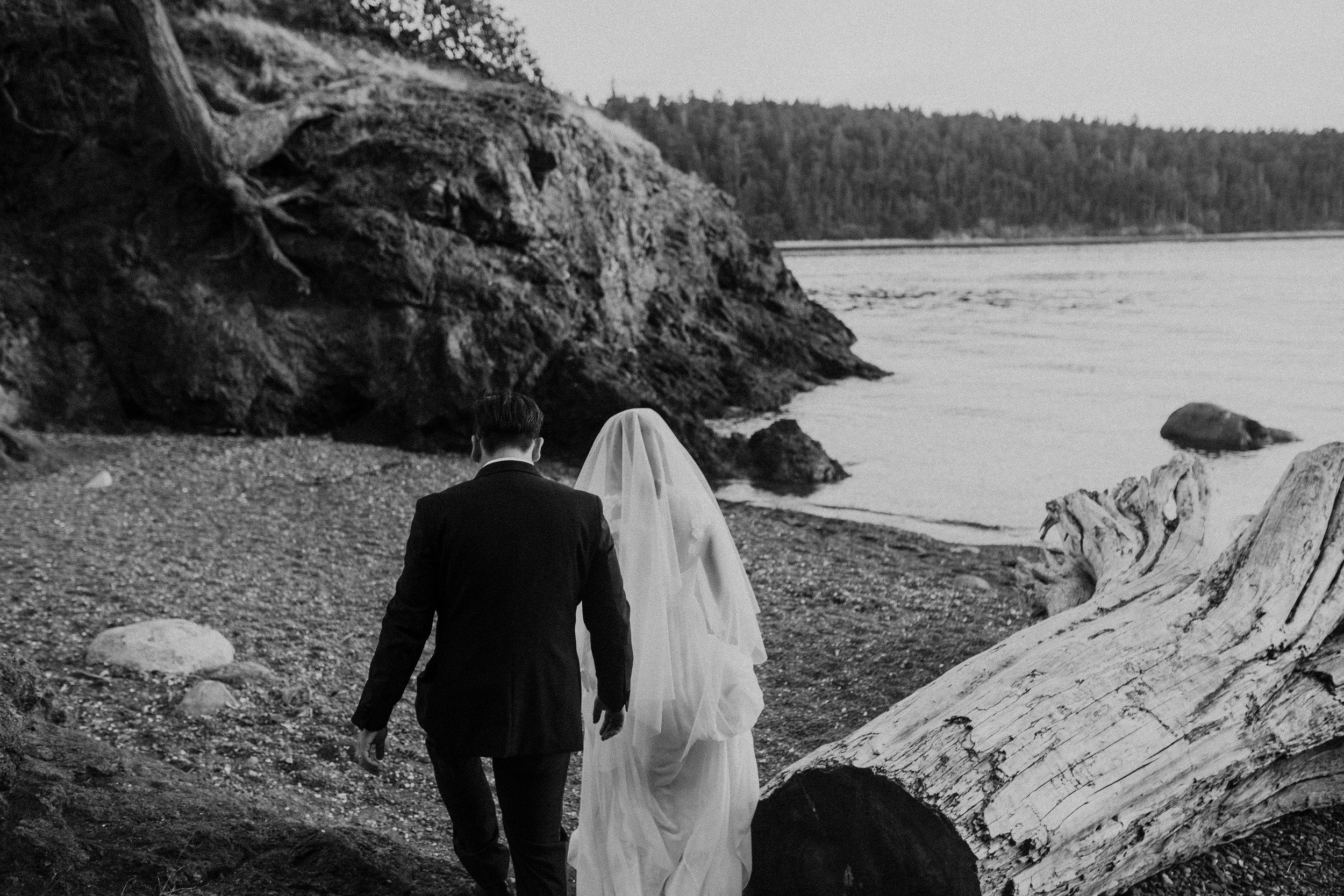lighthouse point seattle wedding