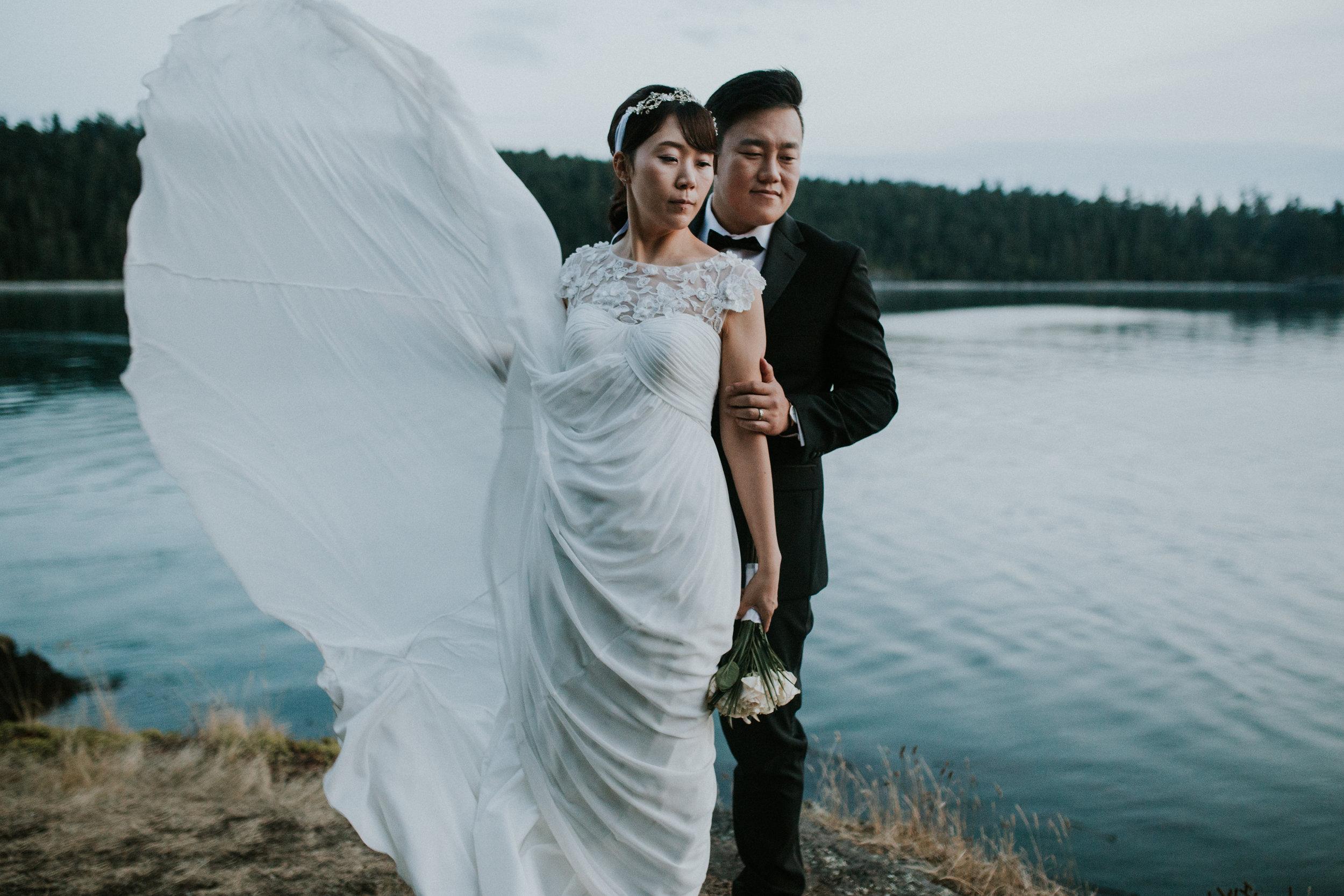 windy dress photographer