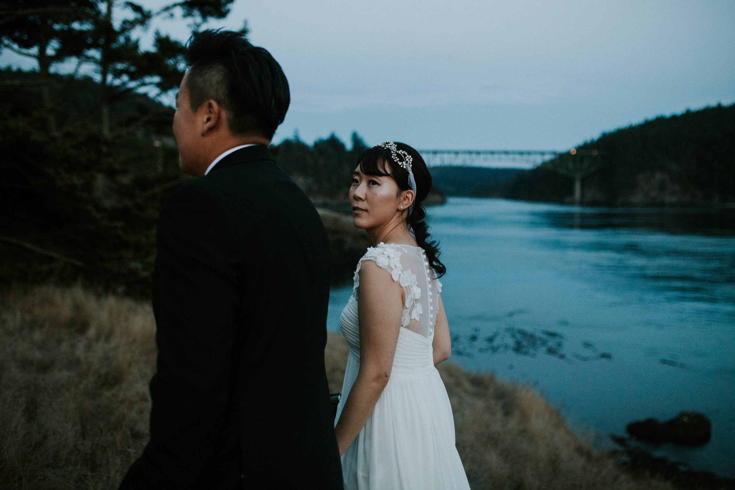 wedding look seattle