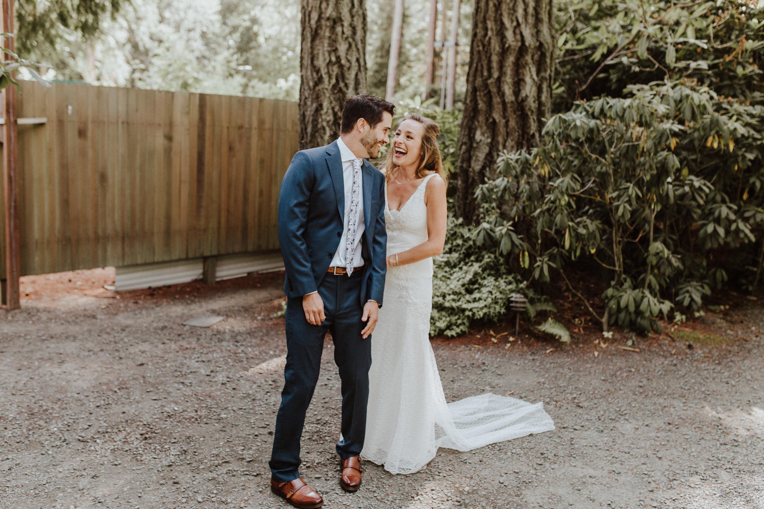 first look at kiana lodge wedding photographer