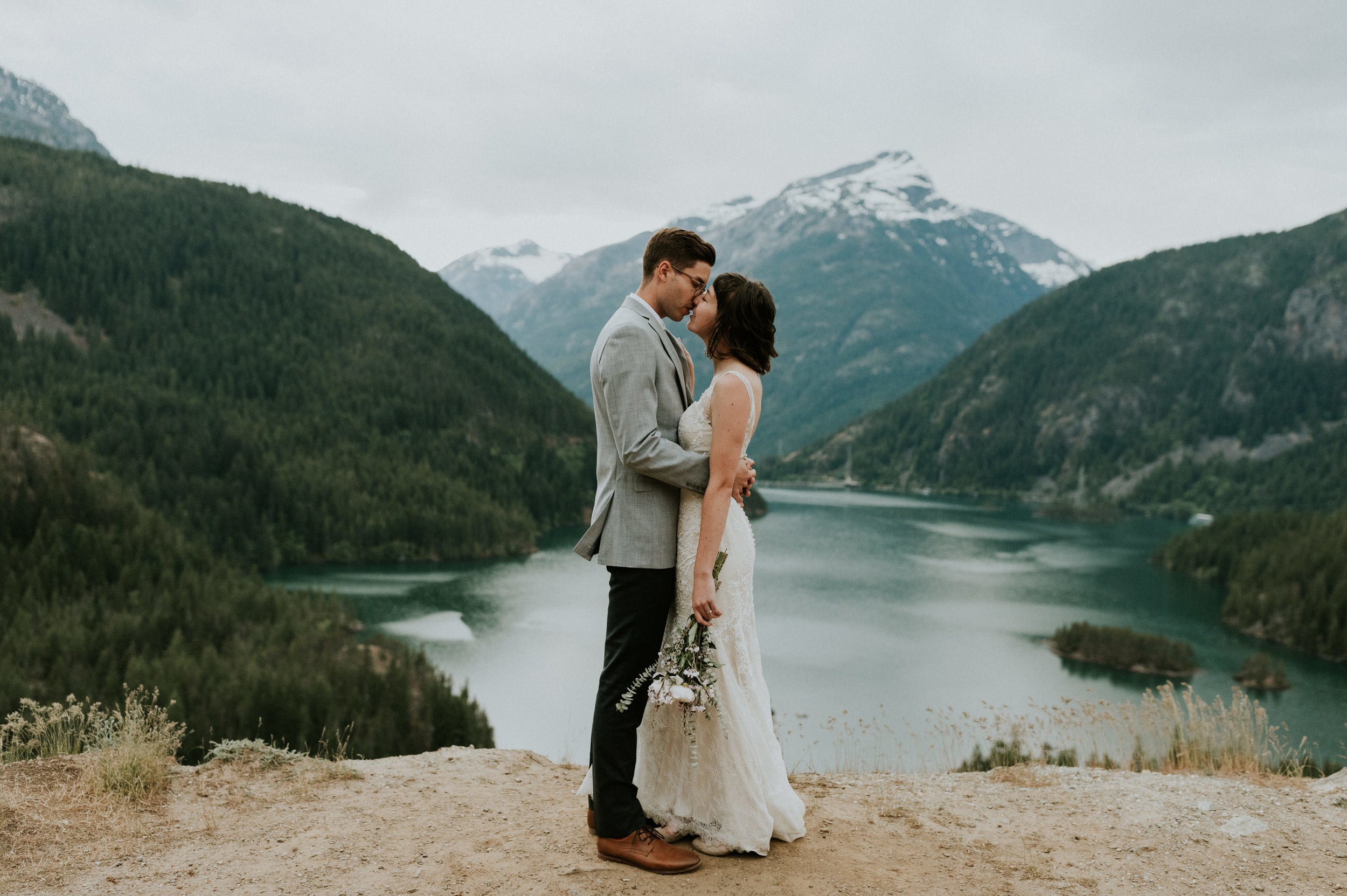 ellie & matt, diablo lake