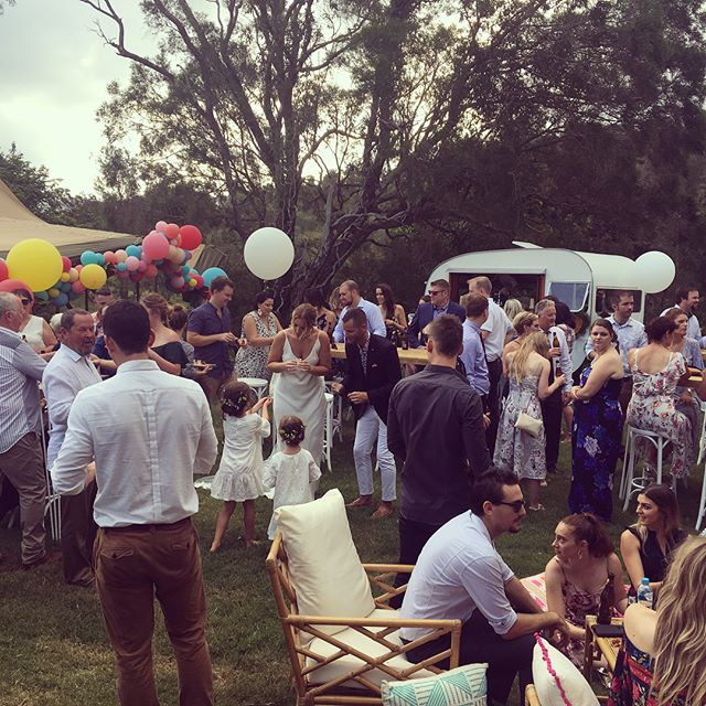 Yesterday ❤️ A team effort. Thanks to @riverwoodweddings @kristinawild_ @insta.kombi @hartandflowers @byronbaycelebrant @hamptoneventhire @djstevefrank @thevanfinestreetfood @myvintagelane @goldcoast_tipis @wheelandspoon @bangbangballoons  #elleandsea #liznsamwedfest #weddingplanner #weddingcoordinator #weddingplannergoldcoast #goldcoastwedding #notsowhitewedding #weddingstylist #weddingstyling