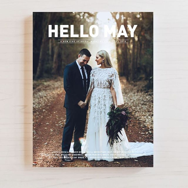 So excited to feature as part of  Leilani and Adam's wedding in issue 22 of @hellomaymagazine - on sale now. Cover photo by @alexcohenphotography. #hellomaymagazine #hellomayissue22 #issue22 #weddingplanner #weddingcoordinator #wedding #eventmanagement #elleandsea #weddingcoordination