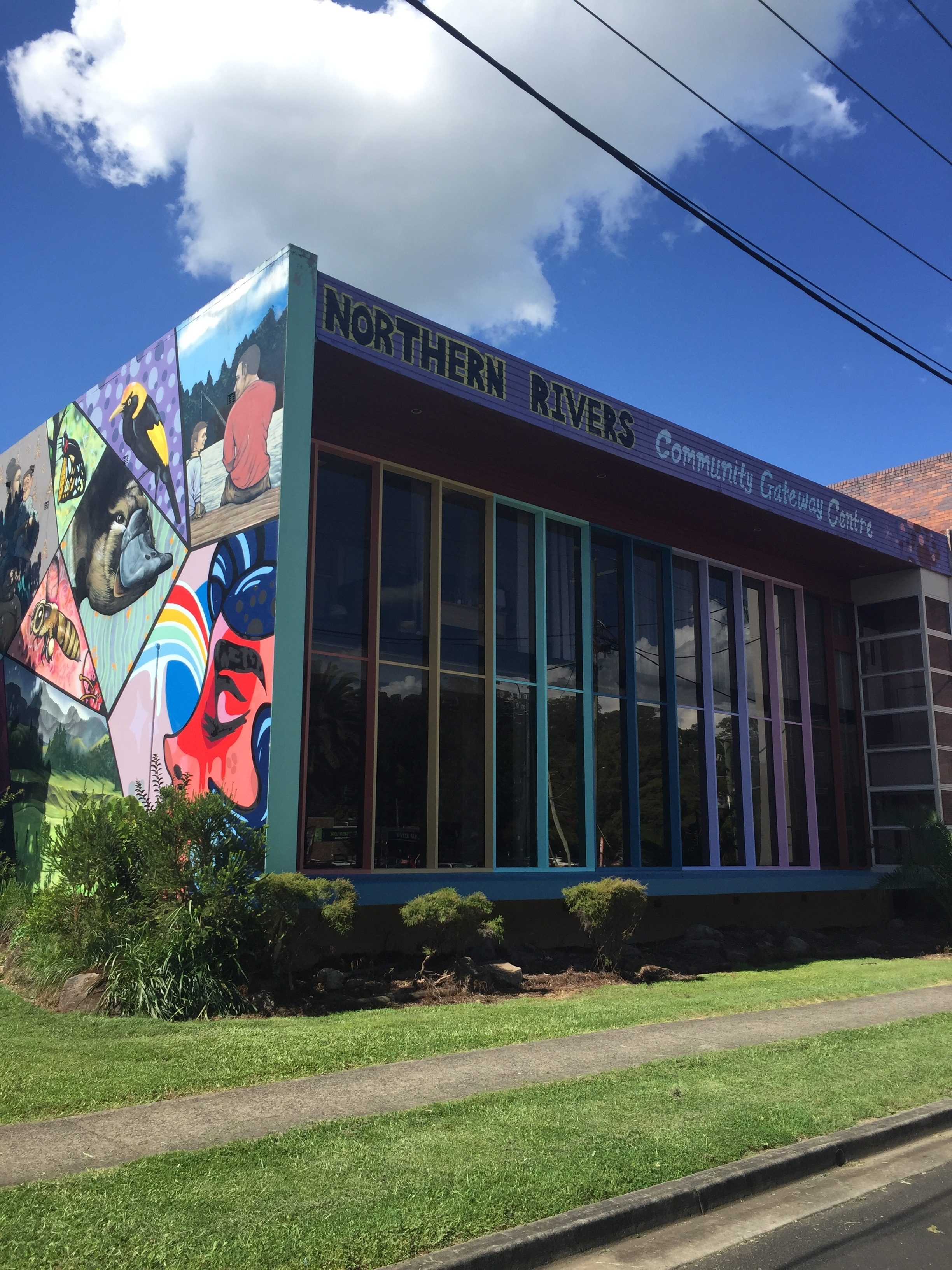 The Northern Rivers Community Gateway hub in sunny Lismore.