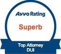 Avvo Superb DWI Attorney