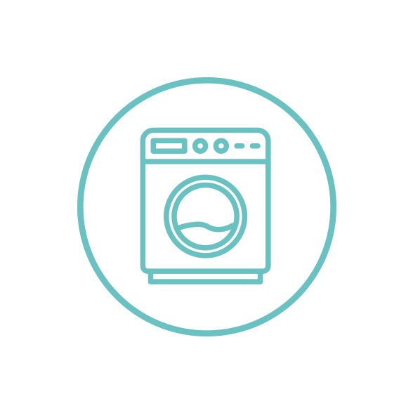 Washing - We make sure that all clothes are clean before giving them to families. Washing clothes from home is a way for volunteers to help on their own time. It's great for stay-at-home parents or those looking to volunteer on their own schedule.