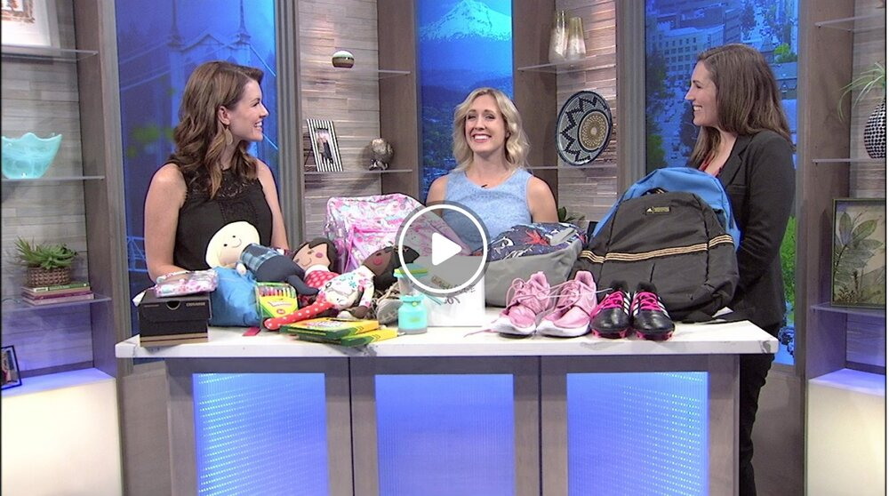 Fox 12 invites With Love and Project Lemonade in to discuss Back to School. - August 2019