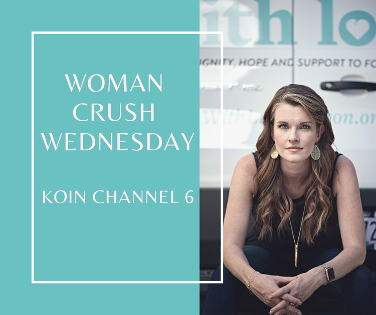 KOIN 6 Woman Crush Wednesday featuring With Love's founder Allie Roth. - August 2019