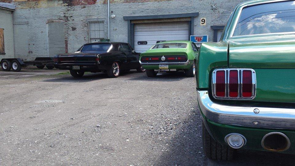 Chevelle, Maverick, Mustang