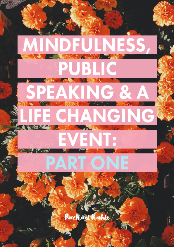 Mindfulness and Public Speaking