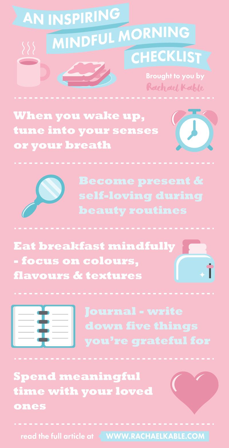 An Inspiring Mindful Morning Checklist
