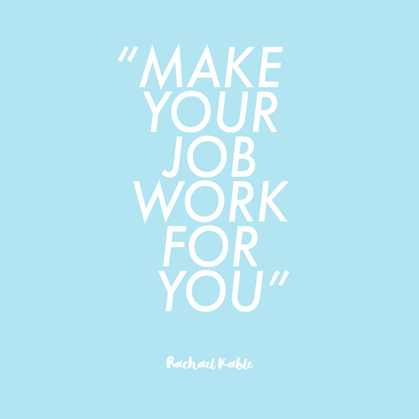 make work work for you