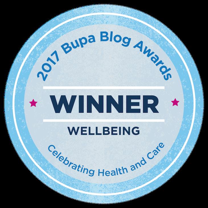 2017 Bupa Blog Awards Winner_Wellbeing Rachael Kable