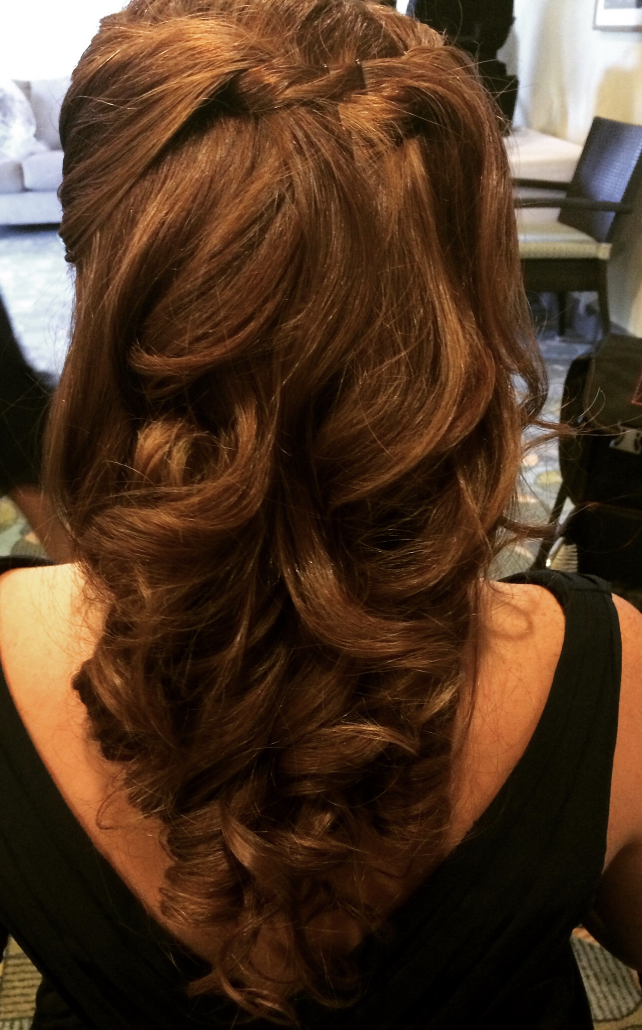 For heat styling..soft curls that hold  -