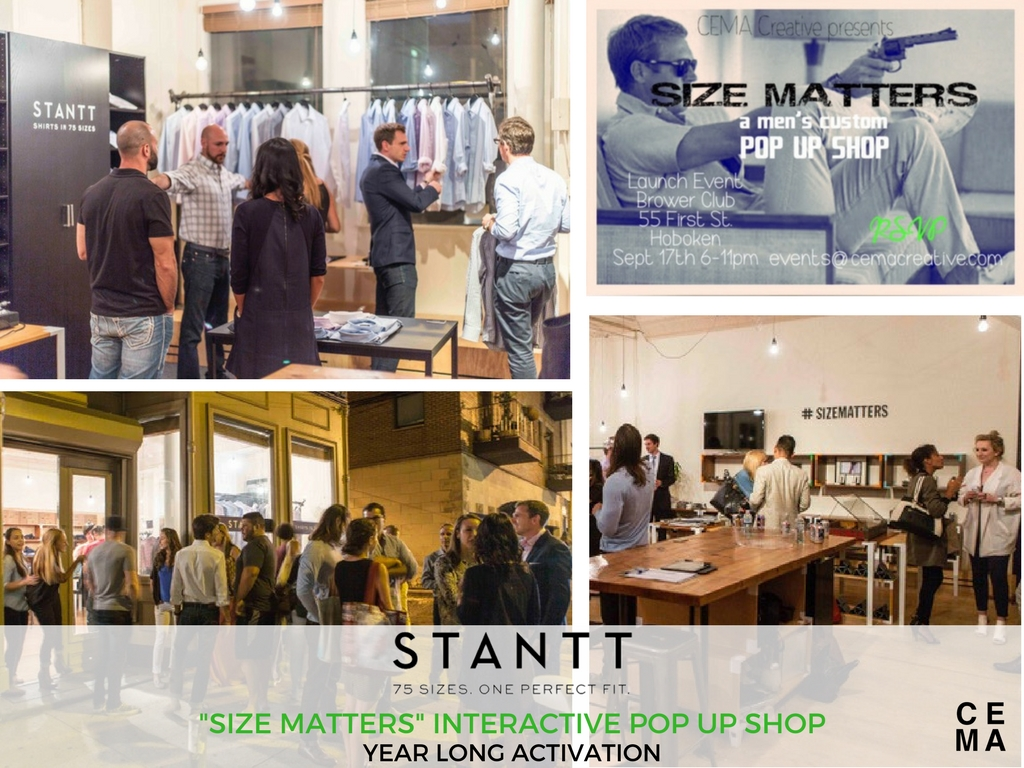 CEMA took stantt custom shirt brand from e-commerce to launching their brick and mortar operations