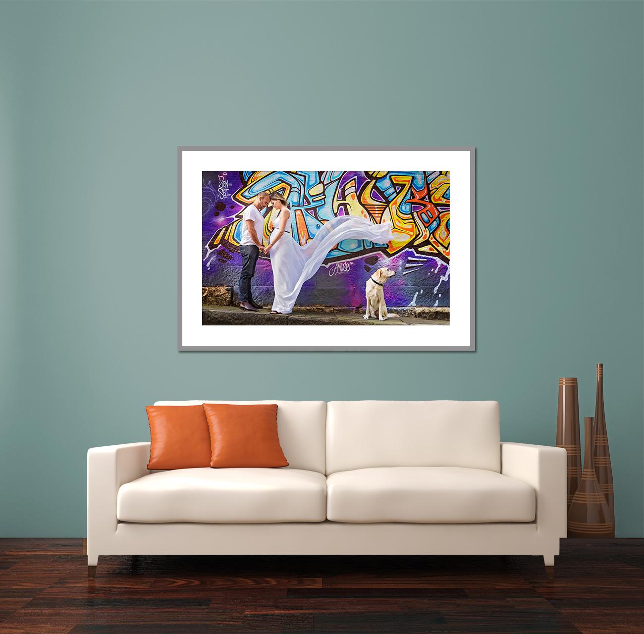 """Custom Framed 50x30"""" Fine Art Print"""