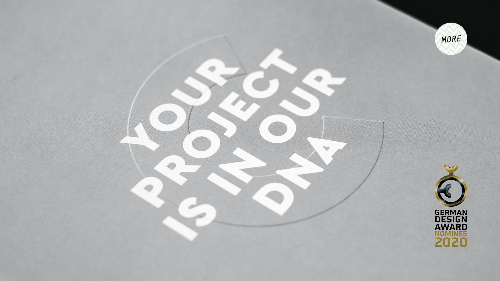 UNGESTRICHEN Buero fuer Kommunikationsdesign_start_the project DNA_B2B Marketingkonzept für conmnoto projects_German Design Award Nominee 2020_01.jpg