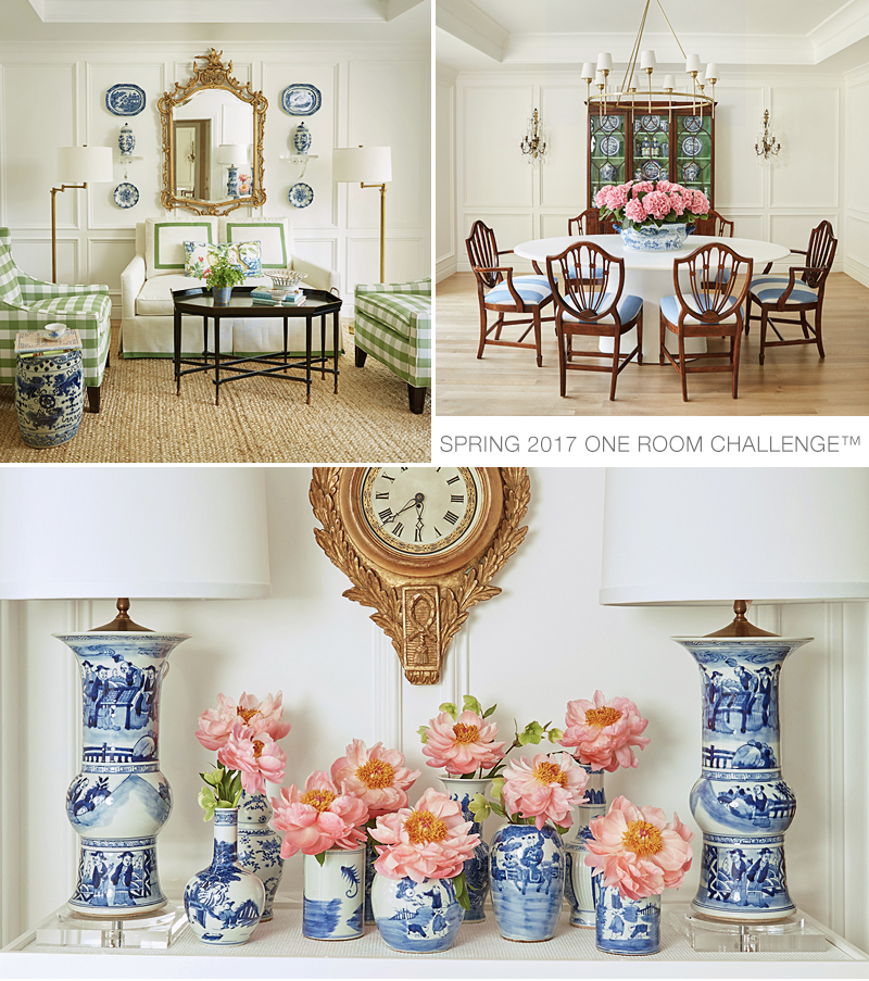 The Pink Pagoda Spring 2017 One Room Challenge™.