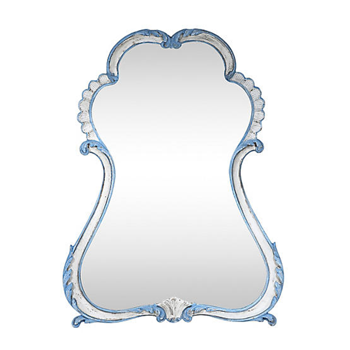 labarge french blue and white mirror.jpg